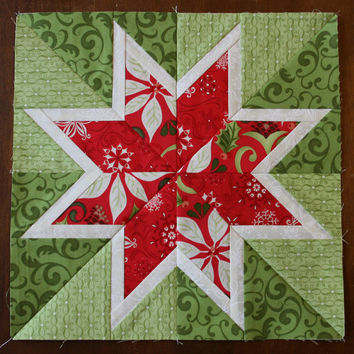 Christmas Star Block