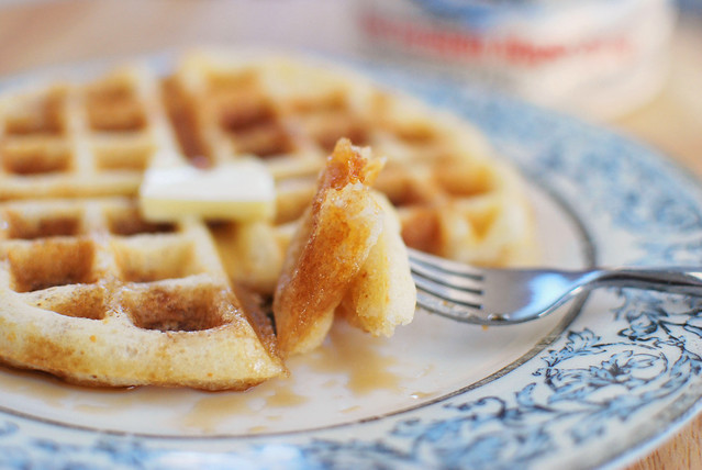 Yeasted Brown-Butter Waffles - Fake Ginger