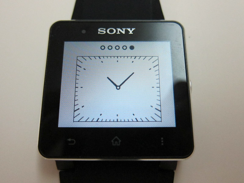 Sony SmartWatch 2 - Watch Face #5