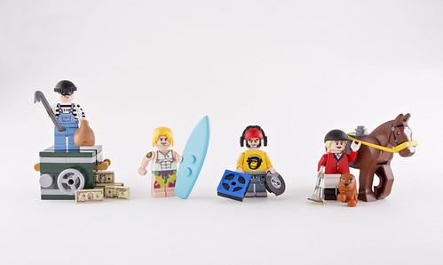 LEGO CITY FIG BARF