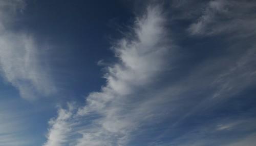 Cirrus-Wolken über Hohn (10)