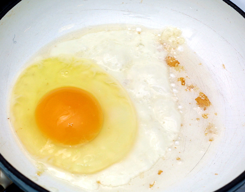 Perfect, fresh egg