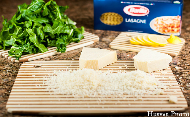 lemon and chard meatless lasagna in_the_know_mom