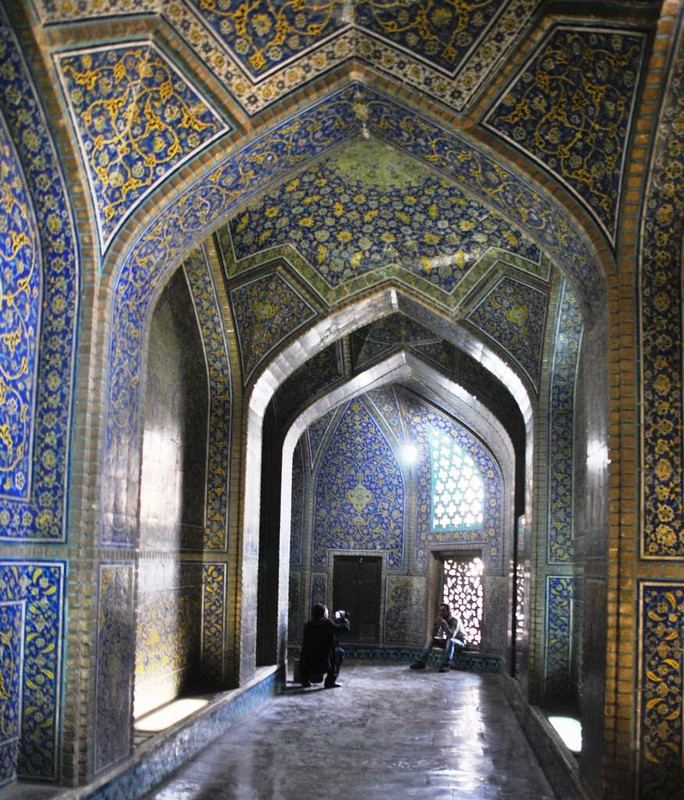 84 Mezquita Sheikh Lotfollah en Isfahan (7)