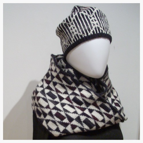 Cowl and hat by Asplund