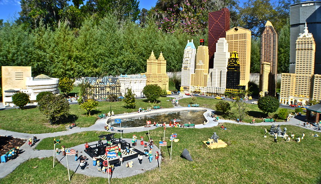 Legoland, Florida - new york city - central park
