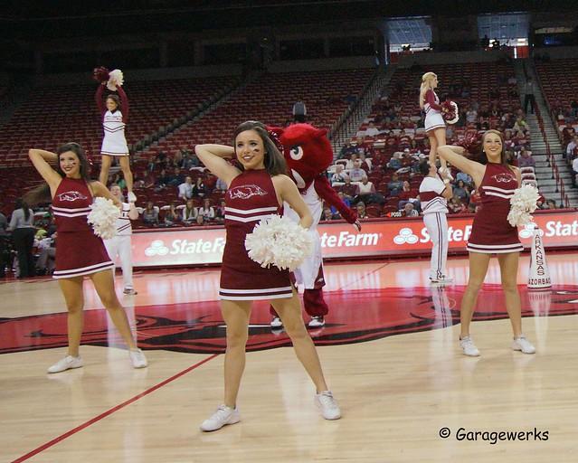 University of Arkansas Razorbacks vs Mississippi Valley State University Basketball