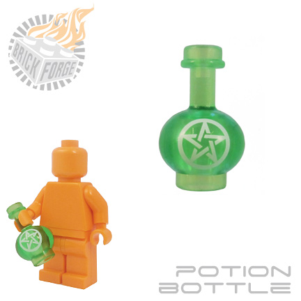 Potion Bottle - Trans Bright Green (Warding)