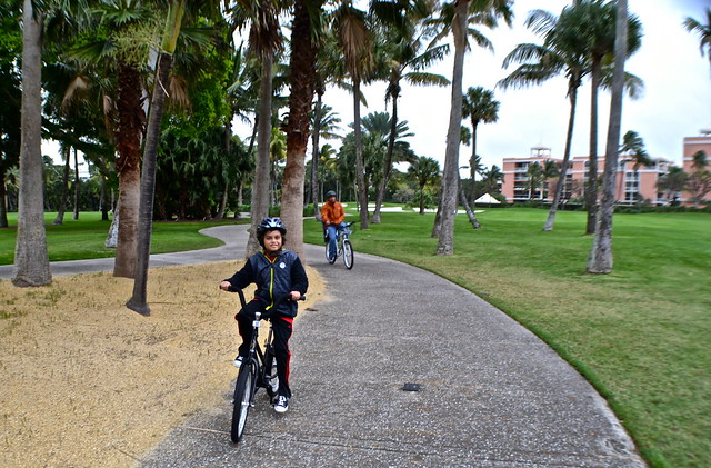 The Breakers Hotel, Palm Beach, Florida - Bike Rentals golf course trail