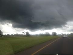 nimbus clouds in Lusaka