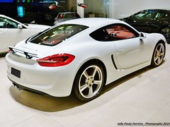 Novo na área: Porsche Cayman S (geração 981)