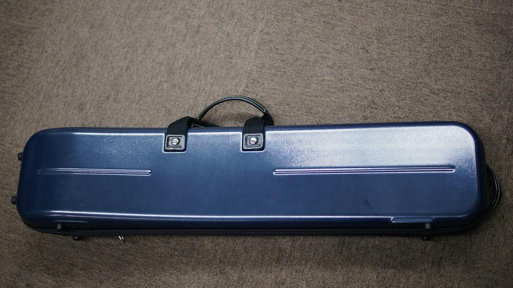 リュック式ハードケース(青)