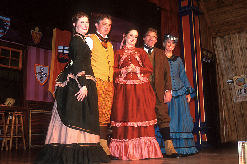 Theatre Royal Actors, Barkerville, Cariboo, British Columbia, Canada