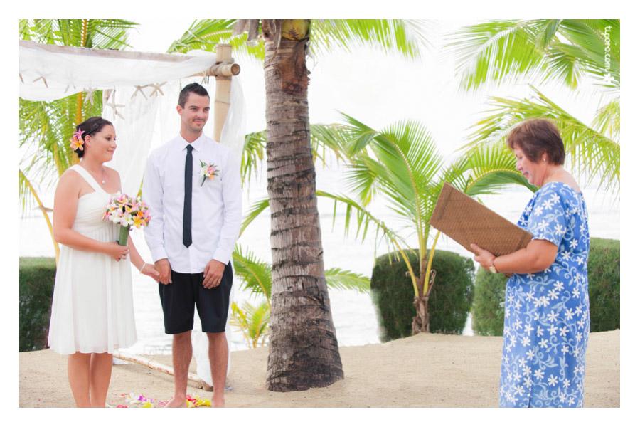 Ani Piri. celebrant, Rarotonga weddings
