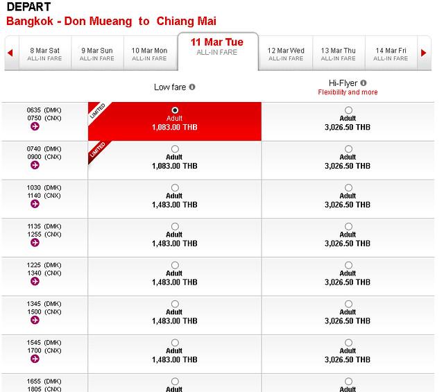 Voando com a Air Asia