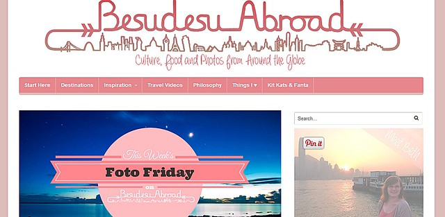 Beth Williams of Besudesu Abroad
