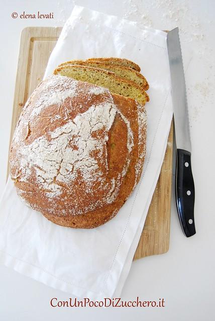 No knead bread ai ceci e miele 2