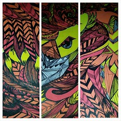 Is it finished?! I hope so. #nofilter#illustration#art#pen#hyperpattern#molotow #posca #feathers #drawing #bird #pheonix