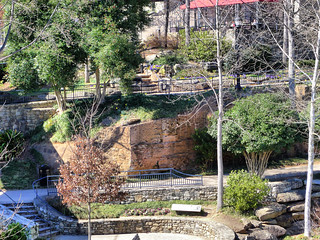 Mill Wall at Falls Park