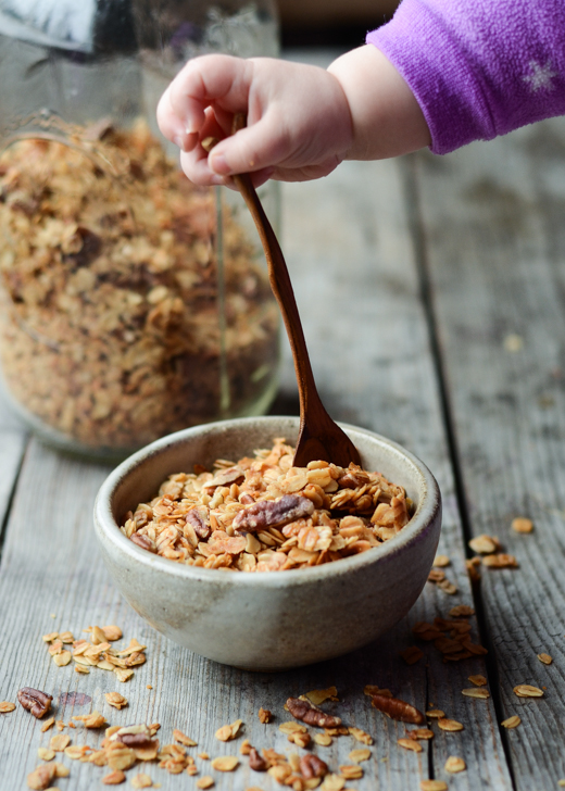 The Best Granola Recipe | Buttered Side Up