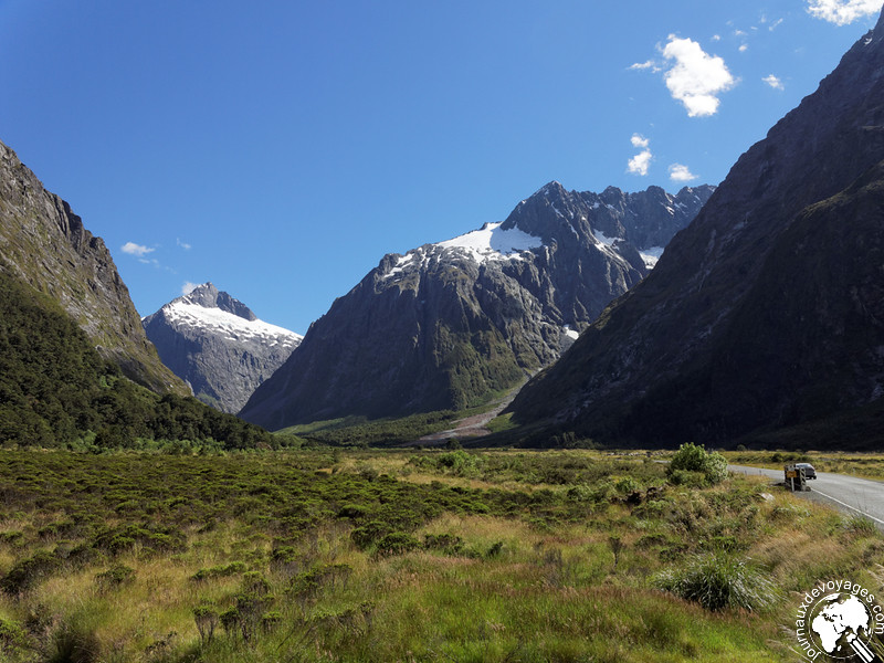 Fjords du Parc national de Fiordland