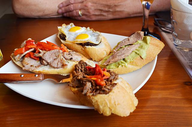 Montaditos, Restaurant El Perenquén, Puerto del Rosario, Fuerteventura