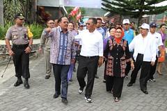 Kunjungan Kerja Menteri BUMN RI Dahlan Iskan di Tobasa