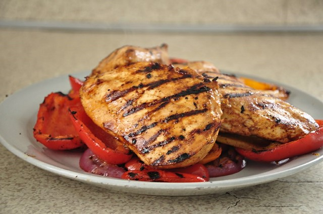 Citrus Marinated Chicken Fajitas
