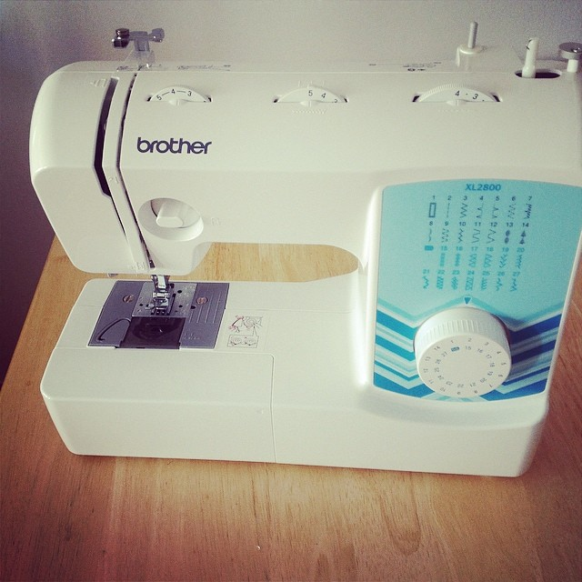New sewing machine!