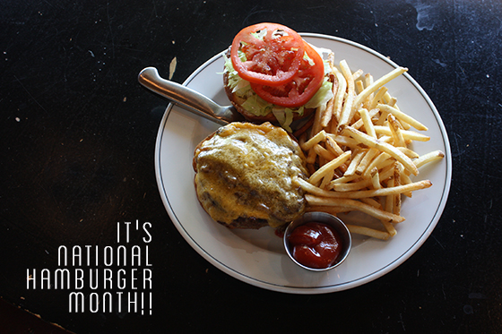 national-hamburger-month