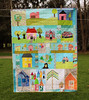 Do Good Stitches: Happy Houses Quilt