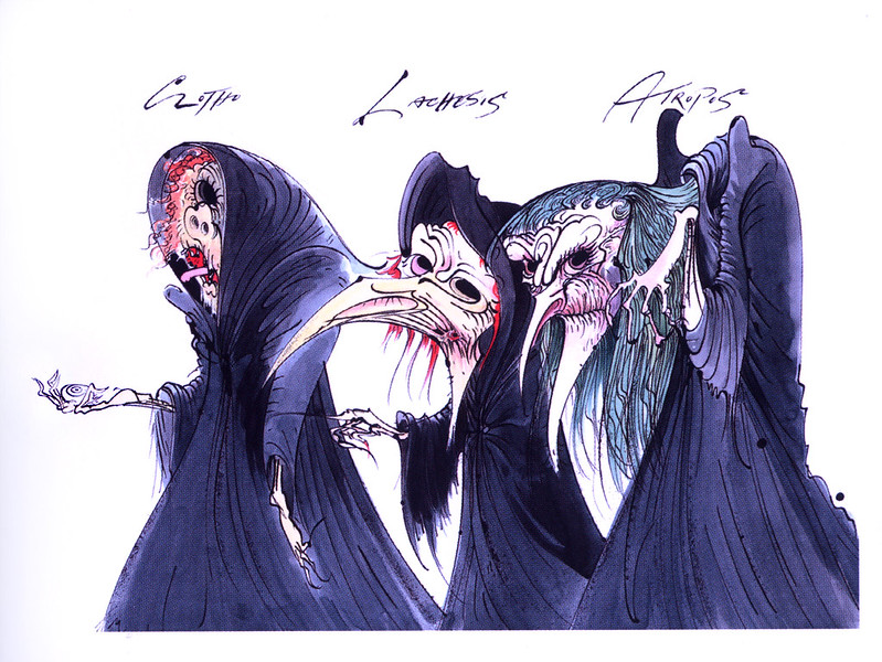 Gerald Scarfe - Hercules Conceptual Paintings 18