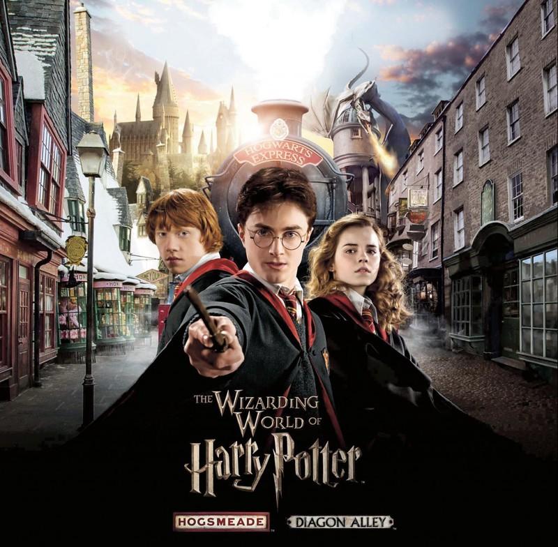 Harry Potter World Orlando - New Diagon Alley Park Summer 2014