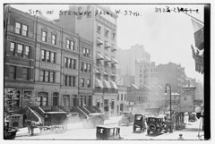 Site of Steinway Hall, W. 57th (LOC)