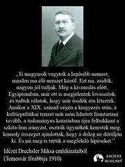 Temesvári főrabbi a magyarokról