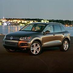 executive car(0.0), saab 9-4x(0.0), automobile(1.0), automotive exterior(1.0), sport utility vehicle(1.0), wheel(1.0), volkswagen(1.0), vehicle(1.0), volkswagen touareg(1.0), land vehicle(1.0),