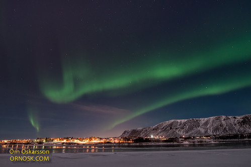 Norðurljós / Aurora borealis - Selfoss / South Iceland