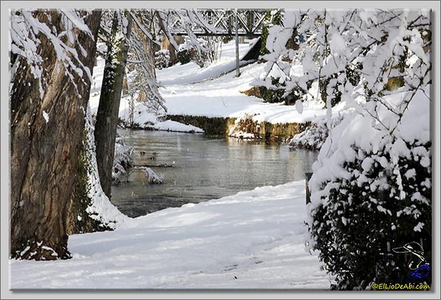 13 Primera nevada en Briviesca 2015