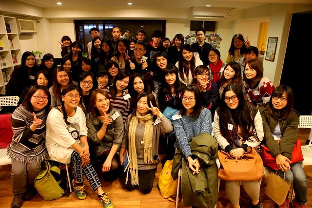 20150131 「上班族女孩別等待,一個人也可以去度假」旅遊分享會