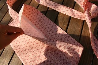 Tuto couture - bouillotte dorsale graines de lin - Etape 28