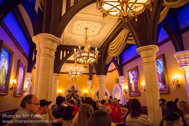 WDW Dec 2014 - Visiting Princess Fairytale Hall