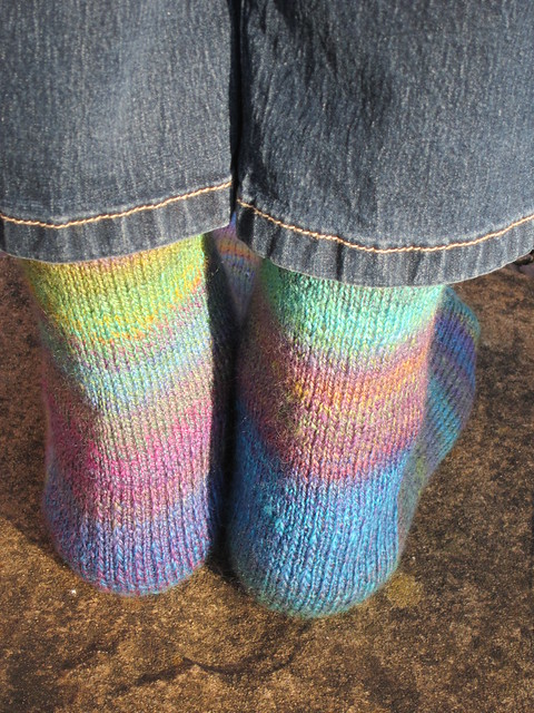 Stinger handspun socks (5)