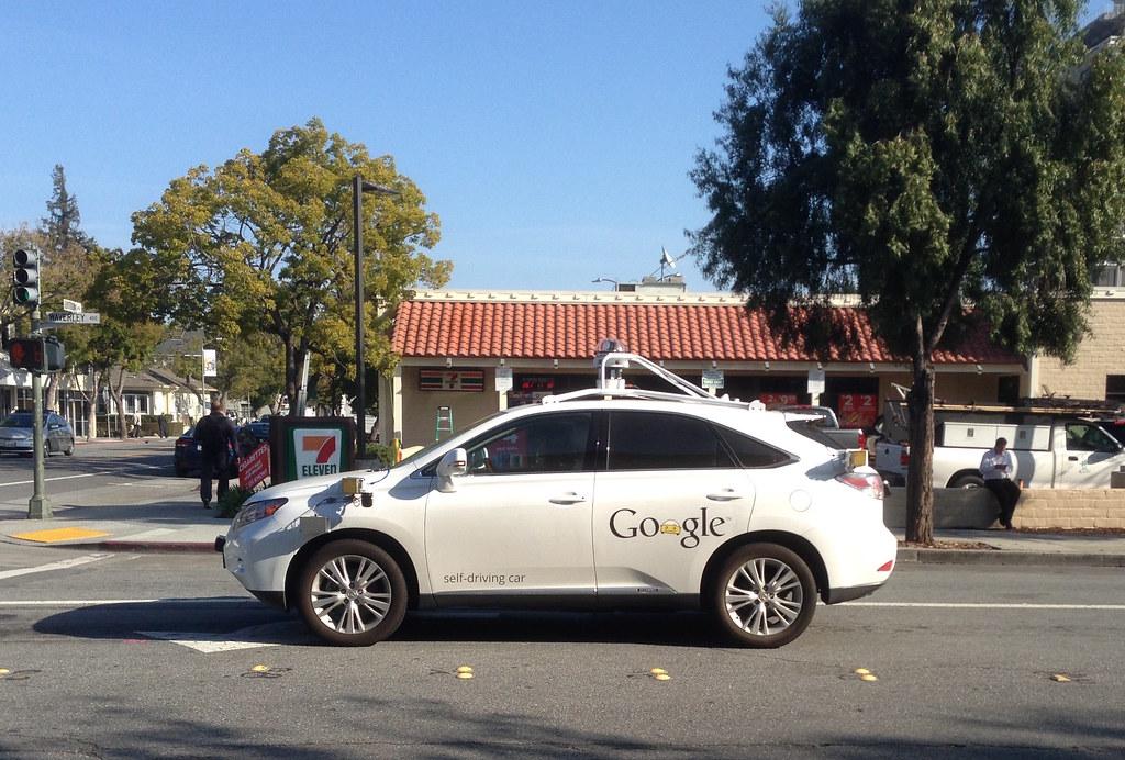 GoogleCar-selfdriving