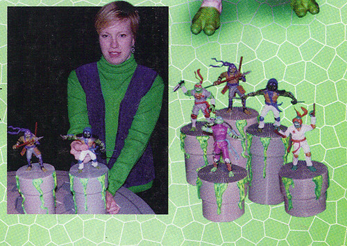 LEE'S TOY REVIEW #xx ::  pg.x TOY FAIR '98 - PLAYMATES'S 'ZORRO' & NT: THE NEXT MUTATION. Turtleflage & SHADOW NINJAS / Unreleased 'SHADOW NINJA TMNTS' (( xx 1998 ))