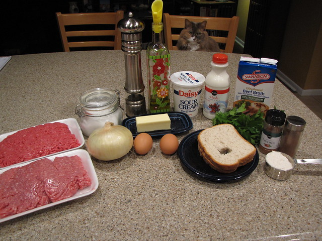 Swedish Meatball Ingredients
