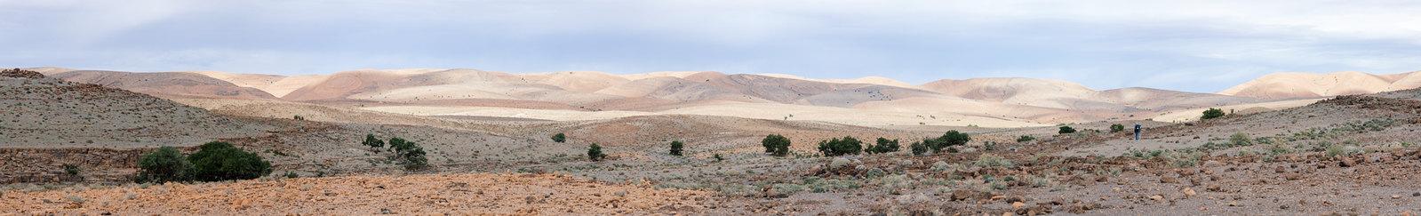 Trek sans guide au Maroc - 5 jours dans l'anti-Atlas - Des roches à perte de vue