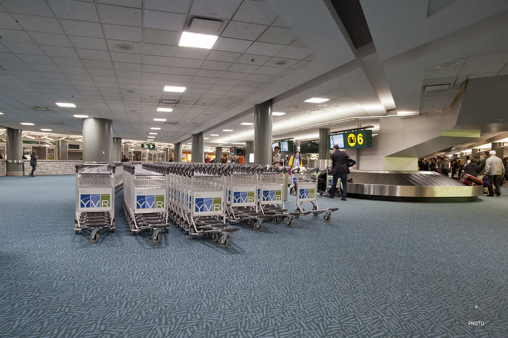 Vancouver Airport Terminal