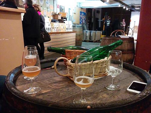 gueze tasting @ Brasserie Cantillon