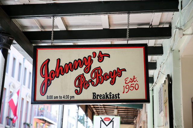 Johnny's Po Boys, New Orleans