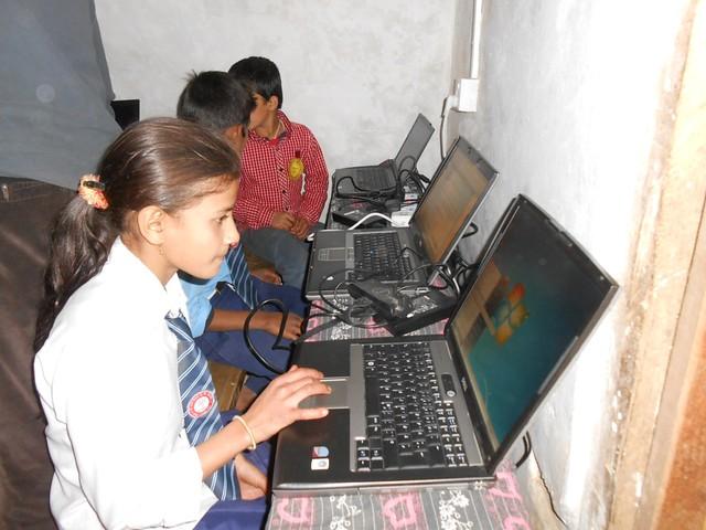 Bani Bilas Computer Donation from GBW Gruppe, Munich
